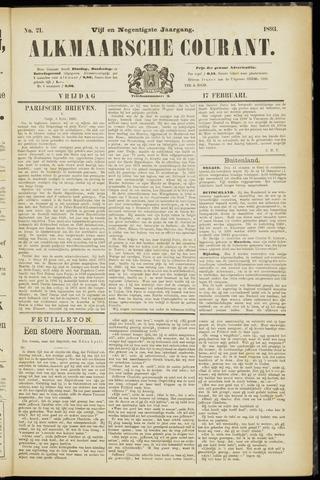 Alkmaarsche Courant 1893-02-17