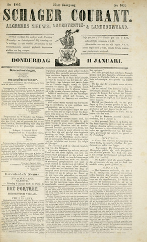 Schager Courant 1883-01-11