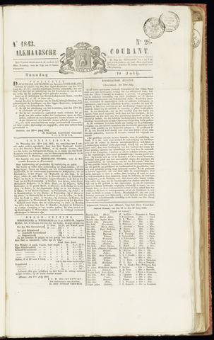 Alkmaarsche Courant 1843-07-10