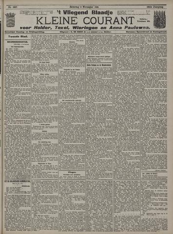Vliegend blaadje : nieuws- en advertentiebode voor Den Helder 1910-11-05