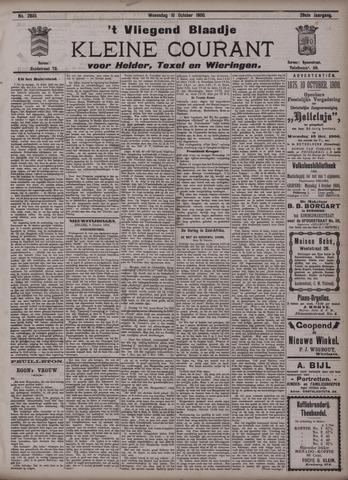 Vliegend blaadje : nieuws- en advertentiebode voor Den Helder 1900-10-10