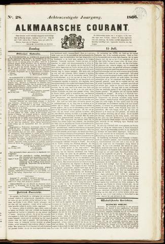 Alkmaarsche Courant 1866-07-15