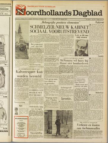 Noordhollands Dagblad : dagblad voor Alkmaar en omgeving 1967-04-04