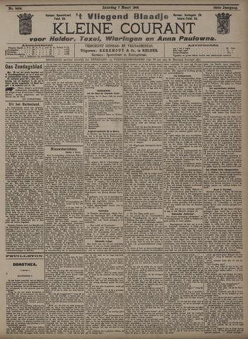 Vliegend blaadje : nieuws- en advertentiebode voor Den Helder 1908-03-07