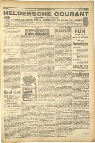 Heldersche Courant 1927-02-12