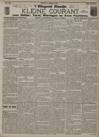 Vliegend blaadje : nieuws- en advertentiebode voor Den Helder 1910-08-13