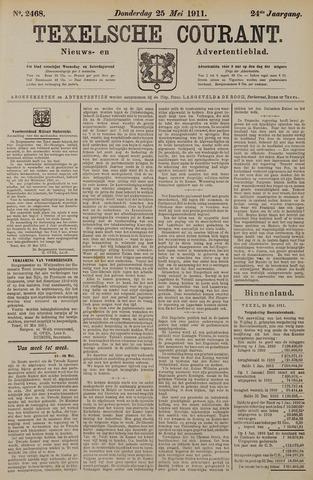 Texelsche Courant 1911-05-25