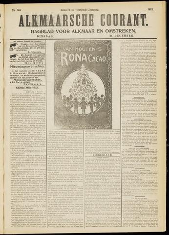 Alkmaarsche Courant 1912-12-24