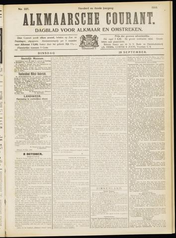 Alkmaarsche Courant 1908-09-29