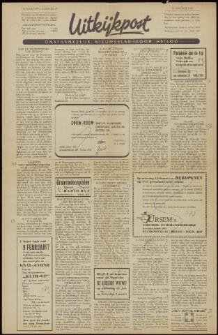 Uitkijkpost : nieuwsblad voor Heiloo e.o. 1958-01-24