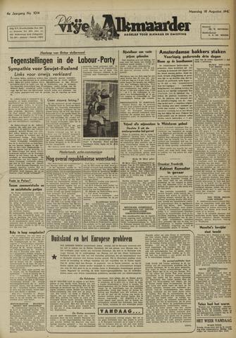 De Vrije Alkmaarder 1947-08-18