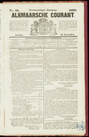 Alkmaarsche Courant 1860-12-16