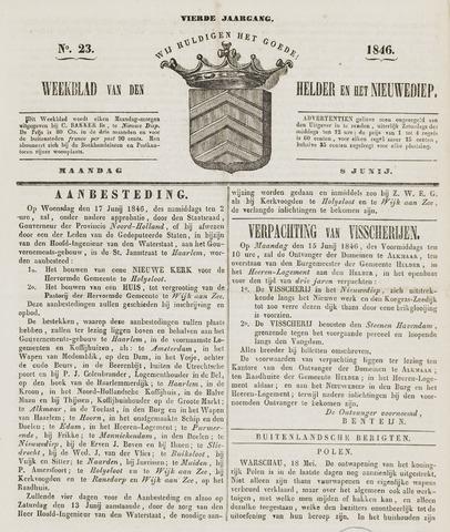 Weekblad van Den Helder en het Nieuwediep 1846-06-08
