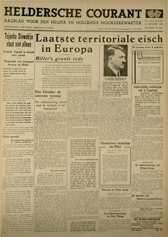 Heldersche Courant 1938-09-27