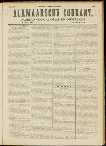 Alkmaarsche Courant 1910-11-05