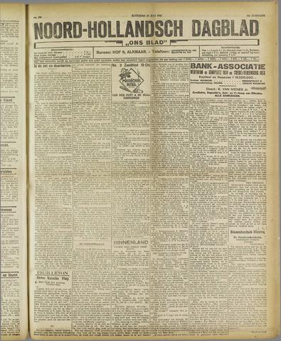 Ons Blad : katholiek nieuwsblad voor N-H 1921-07-23