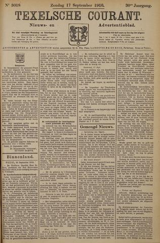 Texelsche Courant 1916-09-17