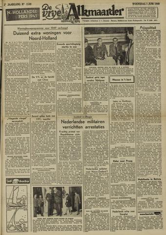 De Vrije Alkmaarder 1949-06-01