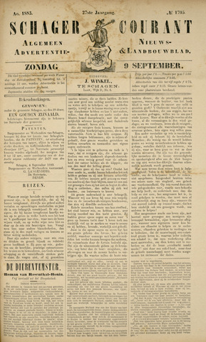 Schager Courant 1883-09-09