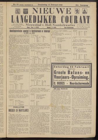 Nieuwe Langedijker Courant 1929-02-21