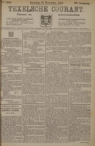 Texelsche Courant 1916-11-18