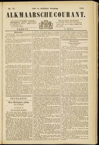 Alkmaarsche Courant 1886-07-02