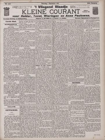 Vliegend blaadje : nieuws- en advertentiebode voor Den Helder 1912-09-07