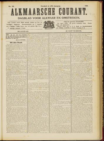 Alkmaarsche Courant 1909-09-20