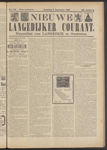 Nieuwe Langedijker Courant 1925-09-05
