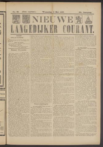 Nieuwe Langedijker Courant 1920-05-05