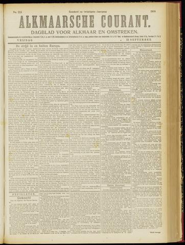 Alkmaarsche Courant 1918-09-13