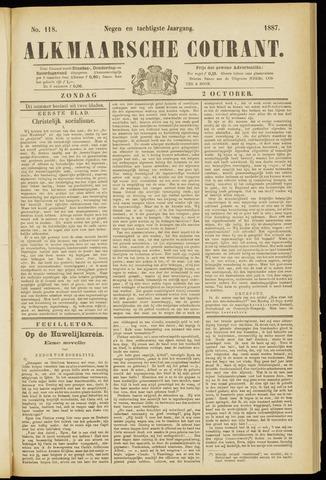 Alkmaarsche Courant 1887-10-02