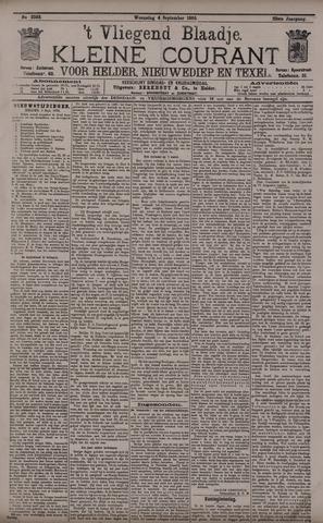 Vliegend blaadje : nieuws- en advertentiebode voor Den Helder 1895-09-04