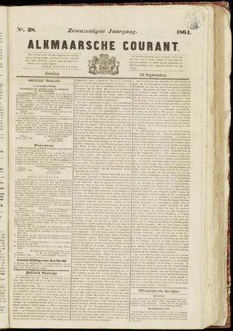 Alkmaarsche Courant 1864-09-18