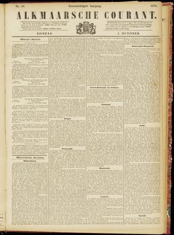 Alkmaarsche Courant 1879-10-05