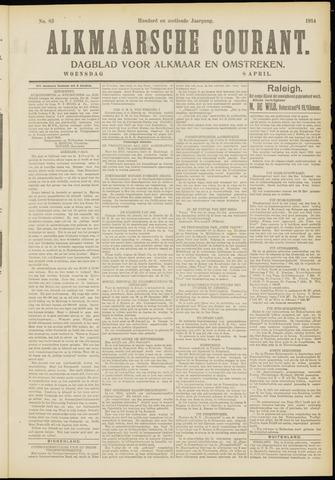 Alkmaarsche Courant 1914-04-08