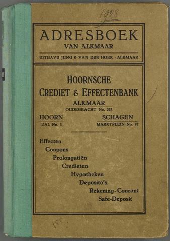 Adresboek van Alkmaar 1928-01-01