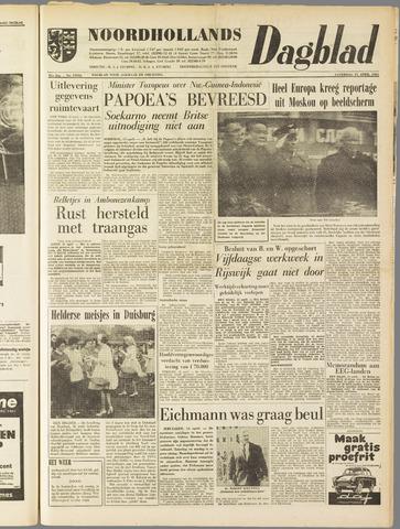 Noordhollands Dagblad : dagblad voor Alkmaar en omgeving 1961-04-15