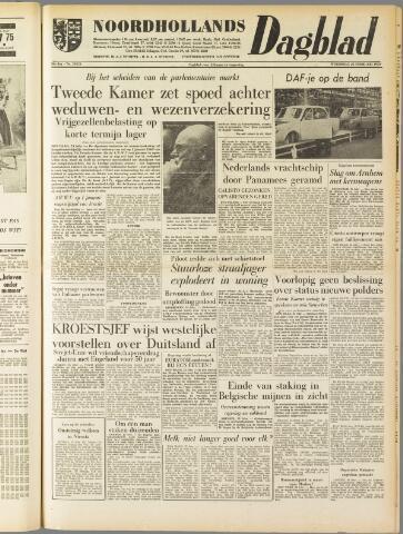 Noordhollands Dagblad : dagblad voor Alkmaar en omgeving 1959-02-25