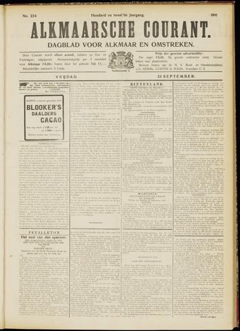 Alkmaarsche Courant 1910-09-23