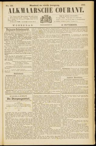 Alkmaarsche Courant 1902-11-12