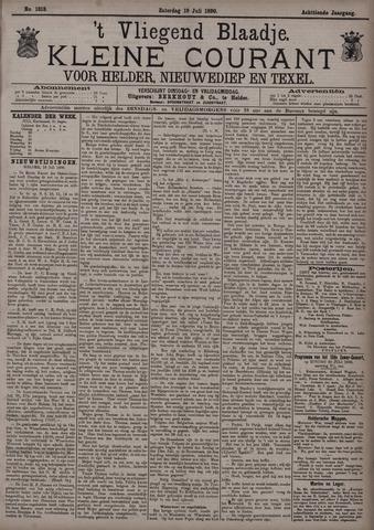 Vliegend blaadje : nieuws- en advertentiebode voor Den Helder 1890-07-19