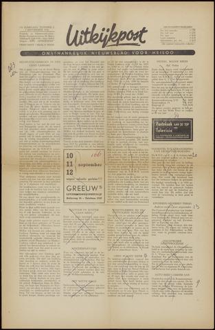 Uitkijkpost : nieuwsblad voor Heiloo e.o. 1956-09-07