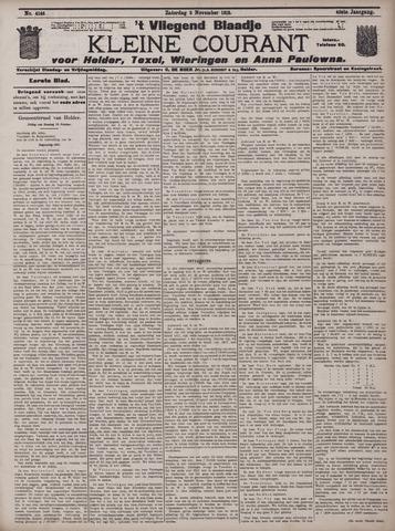 Vliegend blaadje : nieuws- en advertentiebode voor Den Helder 1912-11-02