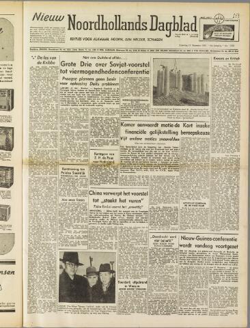 Nieuw Noordhollandsch Dagblad : voor Alkmaar en omgeving 1950-12-23