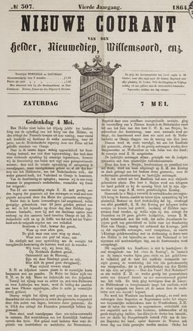 Nieuwe Courant van Den Helder 1864-05-07