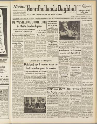 Nieuw Noordhollandsch Dagblad : voor Alkmaar en omgeving 1950-03-29