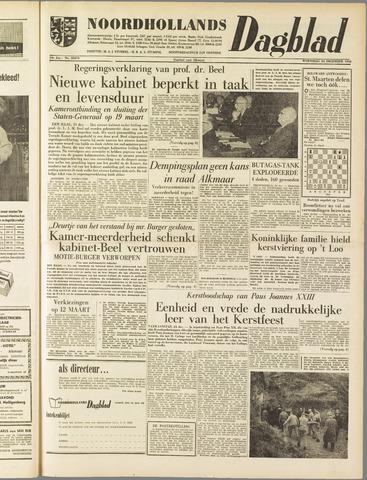 Noordhollands Dagblad : dagblad voor Alkmaar en omgeving 1958-12-24