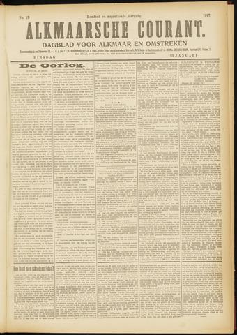 Alkmaarsche Courant 1917-01-23