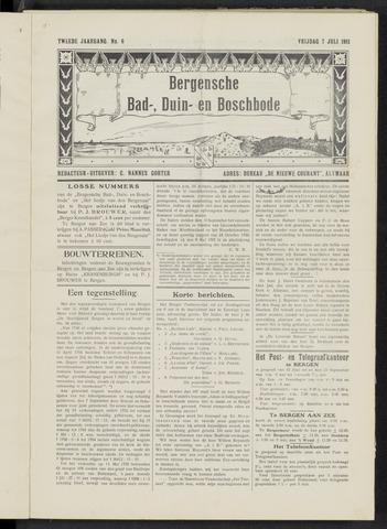 Bergensche bad-, duin- en boschbode 1911-07-07